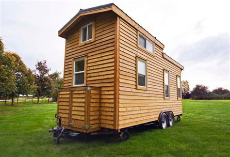 house on wheels 160 sq ft tiny house on wheels by tiny living homes