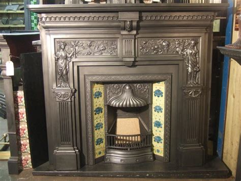 Firebox Fireplace by Peace And Plenty Cast Iron Fireplace