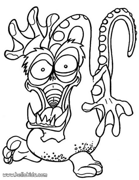 monster coloring pages 2018 dr odd