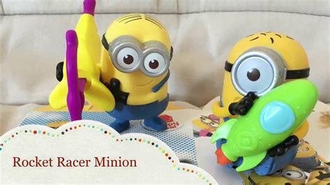 Minion Rocket Racer mcdonald s happy meal toys despicable me 3 rocket racer minion