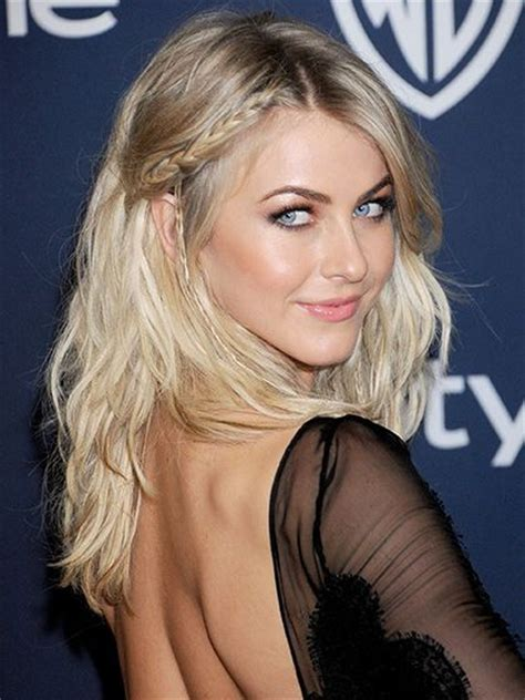 what is up with julianne forhead julianne hough boho braid and loose waves on pinterest