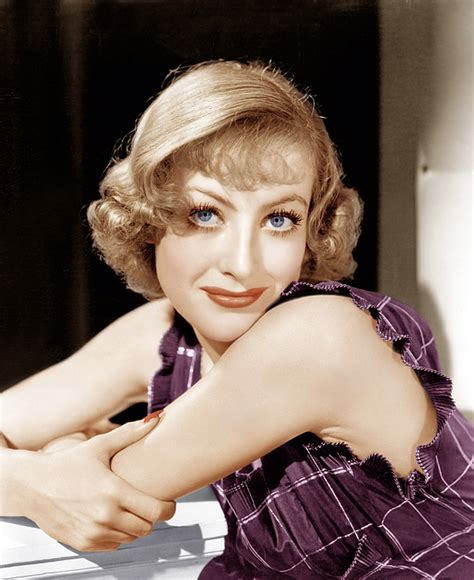 1930s hairstyles coloured photos joan crawford ca 1930s photograph by everett