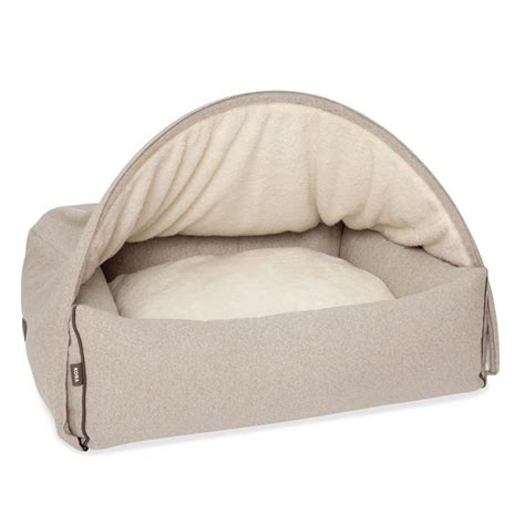 Covered Beds by Beautiful And Sophisticated Snuggle Cave Bed For Dogs And