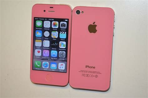 apple iphone 4s 16gb light pink factory unlocked metro pcs smartphone 712131664906 ebay