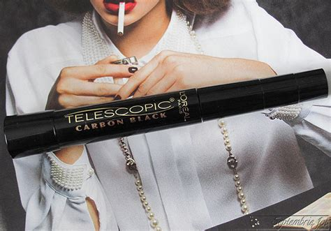 Mascara Loreal Telescopic Carbon Black review rimel l oreal telescopic carbon black septembriejoi