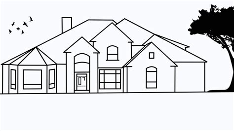 draw house how to draw houses step by step