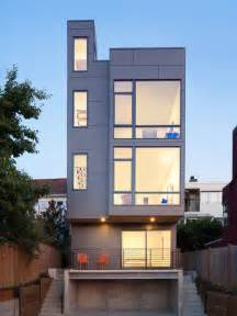 Narrow Home Design Portland by Tall House Houzz