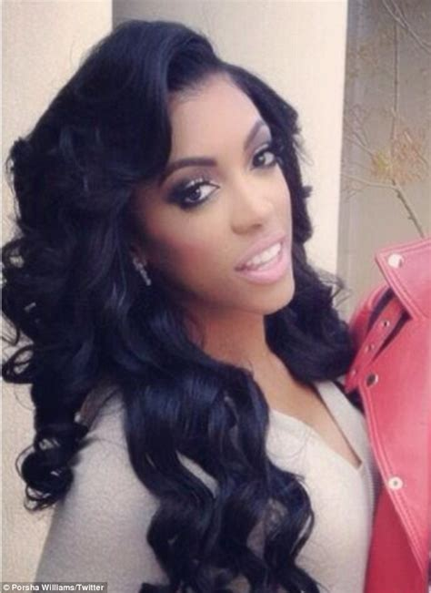 porsha williams hair any good real housewife porsha williams likely to be fired for