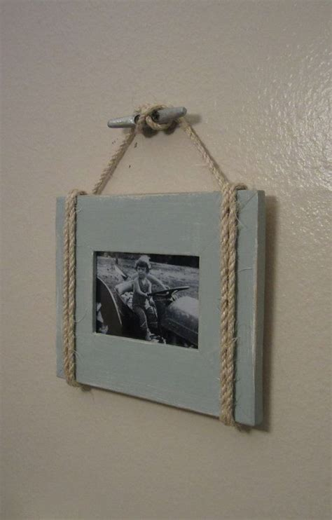 shabby chic nautical beach cottage 4x6 rope boat cleat