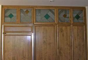 Kitchen Cabinets Glass Inserts Etched Glass Inserts For Kitchen Cabinets Pictures To Pin