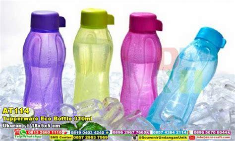 Bottle Plastik Segi tupperware eco bottle 310ml souvenir pernikahan