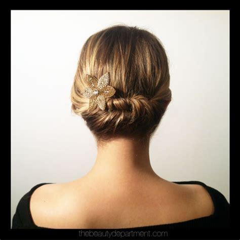 recogido en pelo corto peinados novia bodaestilo la web de tu boda