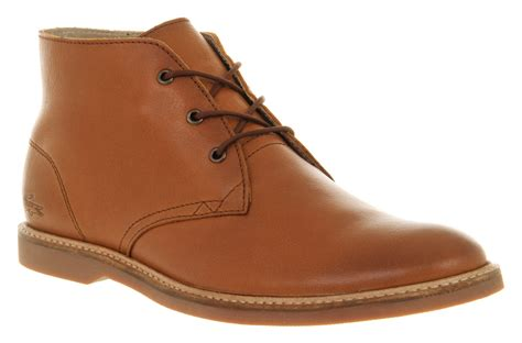 mens lacoste pirate boot leather boots shoes