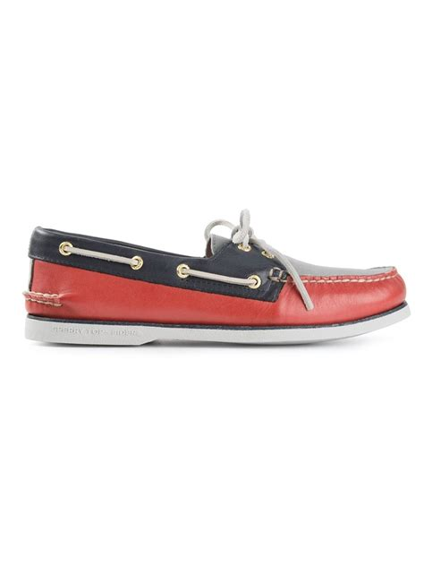 deck shoes for sperry top sider gold cup deck shoes in multicolor for