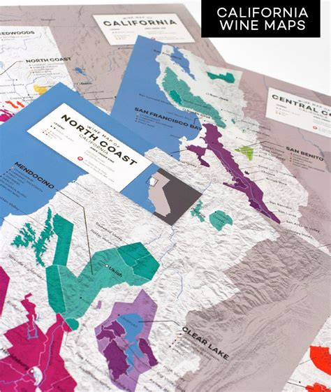 california wine maps wine folly