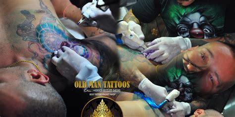 tattoo making process best tattoos shop in phuket archives old man tattoos