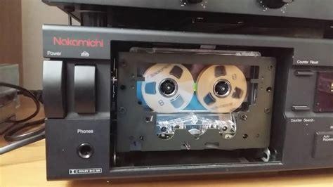 nakamichi cassette nakamichi cassette deck 2