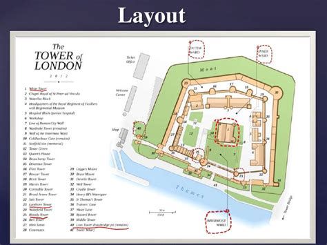 Royal Castle Floor Plan by Tower Of London