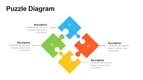 Template Powerpoint Puzzle Template Powerpoint Jigsaw Puzzle Pieces Template