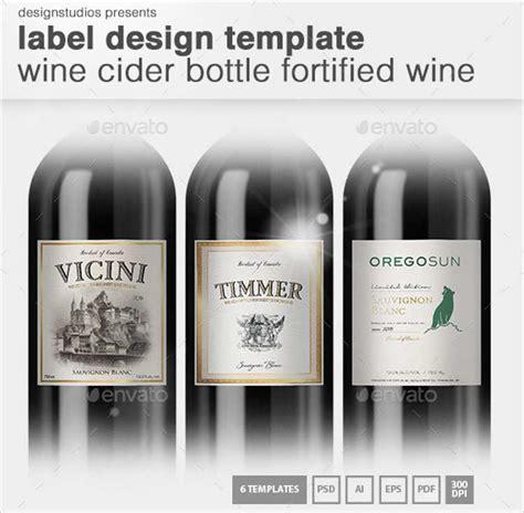 wine label design templates creativetemplate net