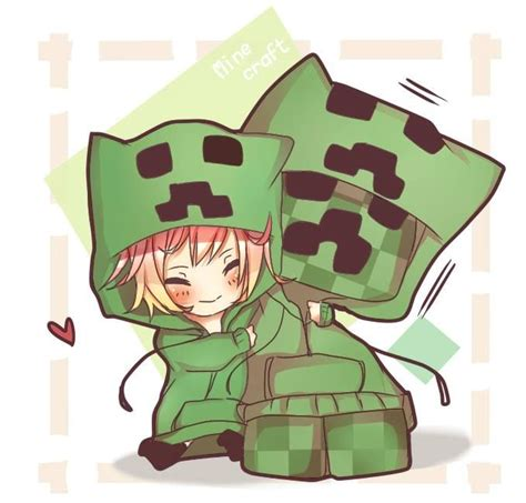 sketch version yogscast fanart minecraft by anime minecraft creeper kawaii minecraft