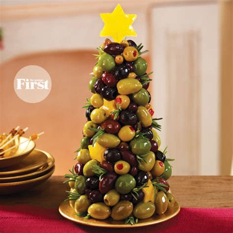 mixed olive appetizer tree first for women