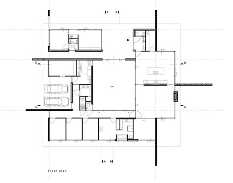 hoke house floor plan gallery of villa b te o bureau b o 8