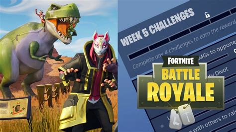 fortnite challenges for season 5 official fortnite challenges for week 5 of season 5