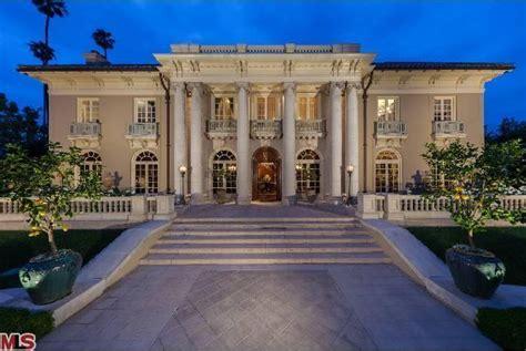 Spelling Mansion Floor Plan the dorothy chandler estate in los angeles ca homes of