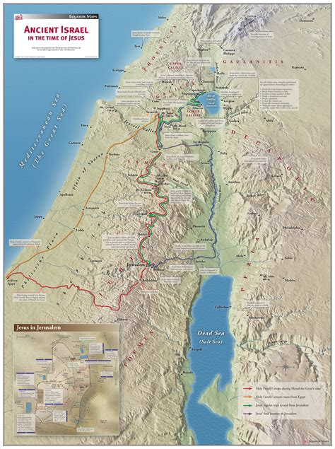 map of ancient jerusalem in jesus time ancient israel in the time of jesus maps