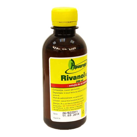 Rivanol 0 1 New 200ml rivanol 0 1 200ml