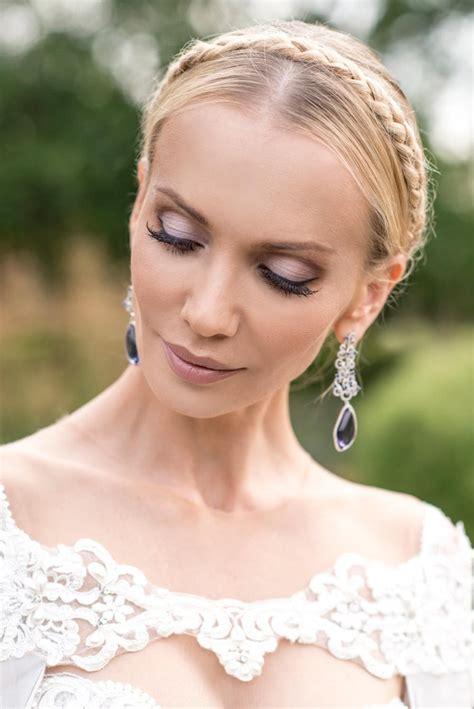 Brautfrisuren Romantische Hochsteckfrisur by Brautfrisuren Offen Halboffen Oder Hochgesteckt 100