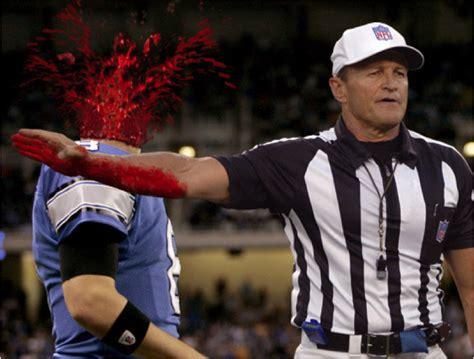 Ed Hochuli Meme - l arbitre le plus muscl 233 de la nfl balle courbe