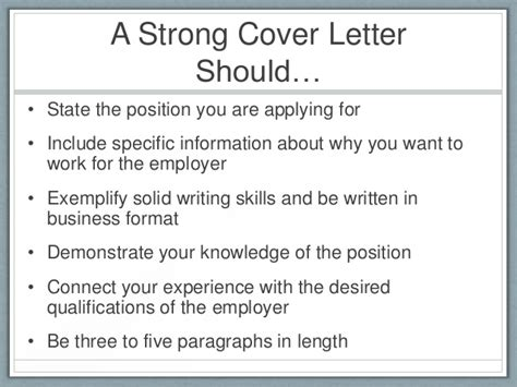 what does the cover letter of a resume consist of
