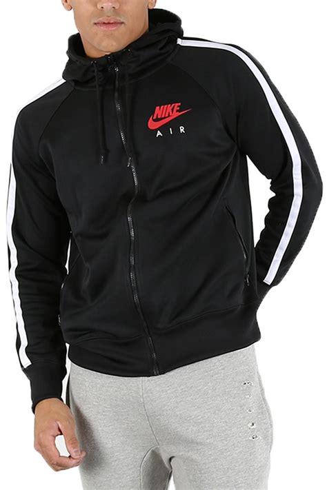 Sweater Jaket Air Hoodie Zipper nike air limitless mens side pocket zip up track hoody