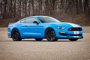 Blue Ford Ford Mustang Shelby Gt350 S New Colors Should Grab Your