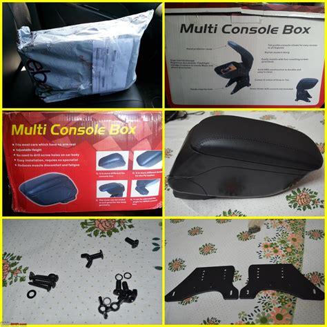 Console Box Arm Rest Suzuki Ertiga suzuki ertiga center console box standar oem daftar