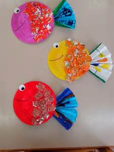 pics photos paper plate fish