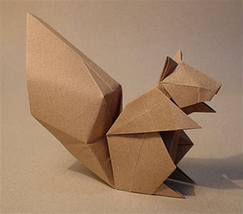 Easy Origami Squirrel - the origami forum view topic komatsu s squirrel