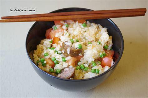 cuisiner petit pois surgel駸 recette chinoise riz saut 233 224 la tomate aux petits pois