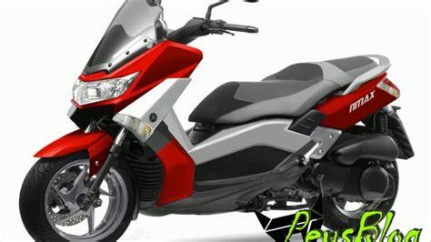 Modifikasi Motor Touring by Lihat Aja Modifikasi Nmax Warna Merah Buat Touring