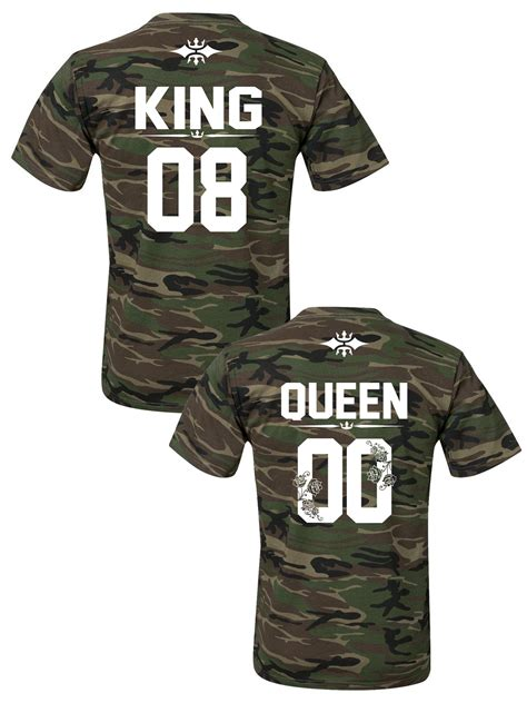 Matching Camo Shirts For Couples King And T Shirts The Camo Collection