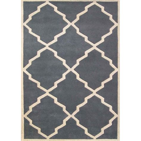Slate Gray Moroccan Rug Modern Rugs By Overstock Com Modern Rug