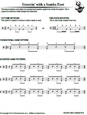 samba drum pattern notation how to read drum tabs pdf drums large blank guitar sheet