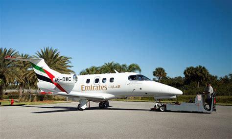 emirates flight training academy emirates flight training academy receives first embraer