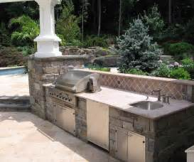 Custom Outdoor Kitchen Designs Swimming Pool Landscaping Ideas Inground Pools Nj Design