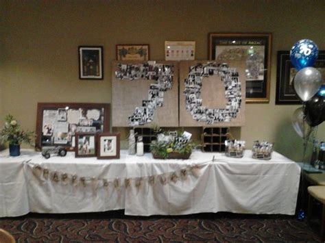 70 Birthday Decorations by 70th Birthday 70th Birthday Ideas