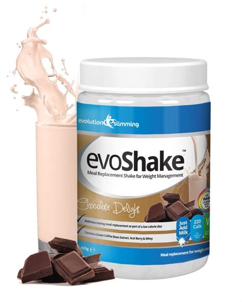 Detox Tablets Asda by Evoshake Meal Replacement Shake Chocolate Delight 420g