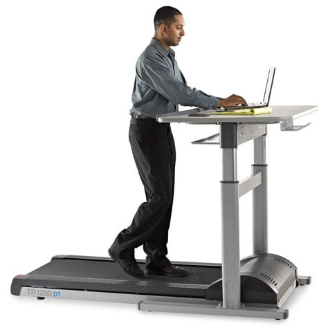 i built my 3rd treadmill desk and went all out at this