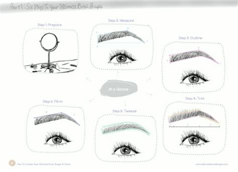 At Home Eyebrow Grooming by Everything You Needed To About Doing Your Eyebrows